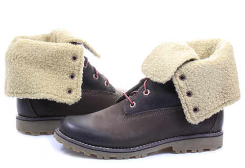 Timberland Topánky - 6 Inch Shearling Boot - 6298R-DBR - Tenisky ... 0e9caf25128