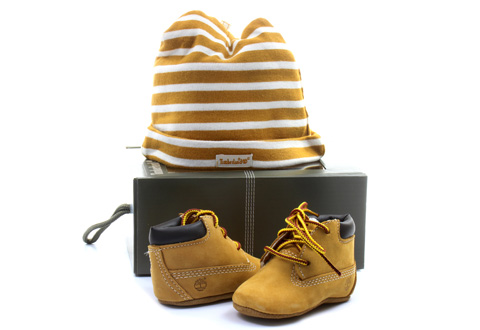 d05edee915ea Timberland Topánky - Crib Bootie - 9589R-WHE - Tenisky