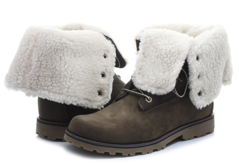 Timberland Topánky - 6 inch Shearling Boot - a156y-brn - Tenisky ... fca3efc6656
