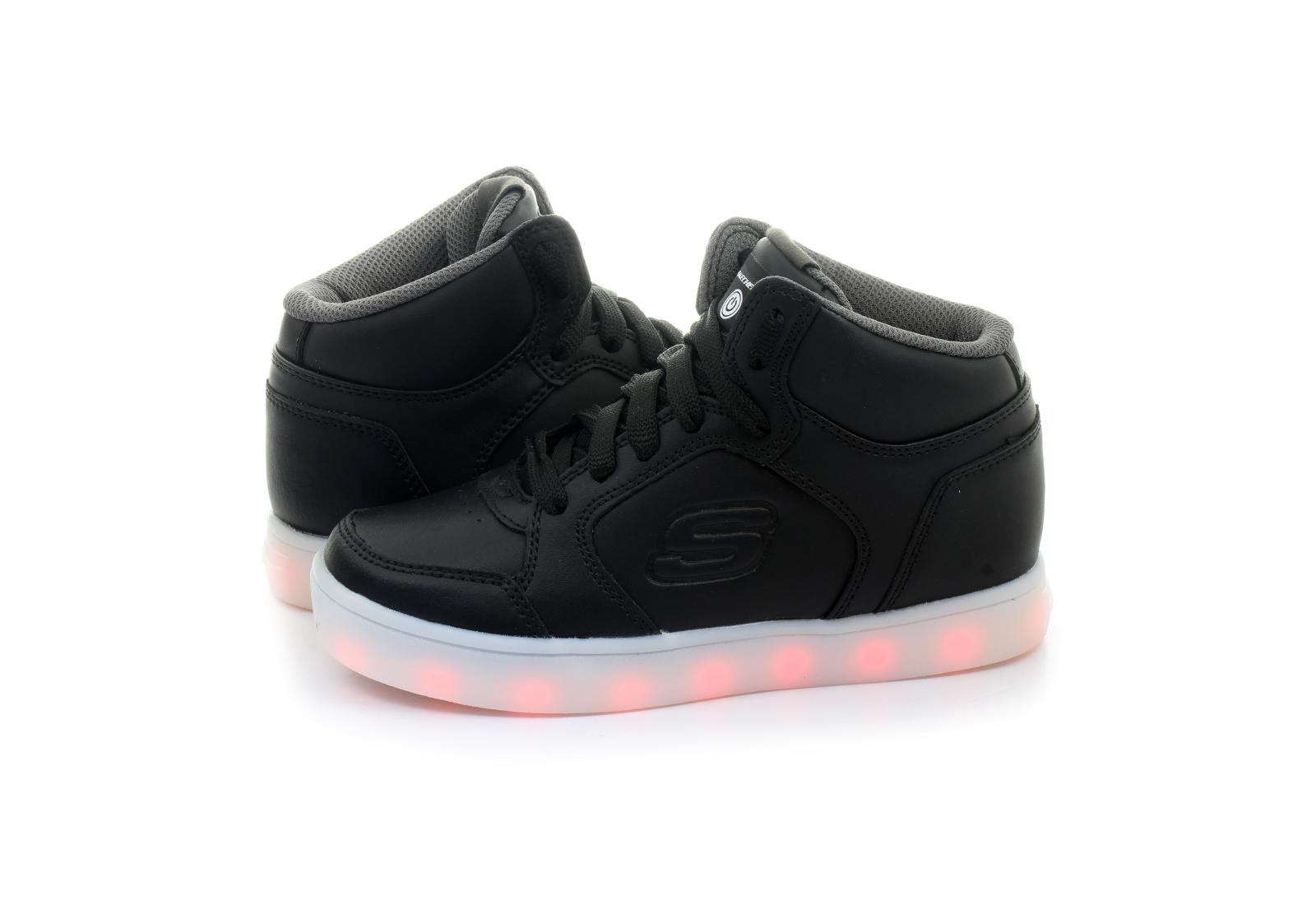 00b8480bf775 Skechers Topánky - Energy Lights - 90600l-blk - Tenisky